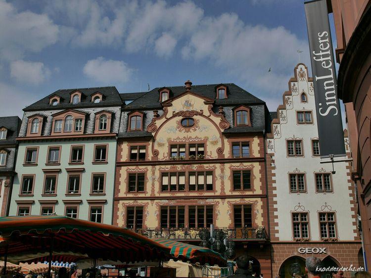 Architektur in Mainz. Architecture