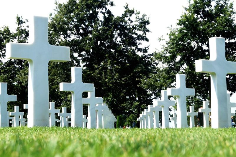 Many souls take wings Proud Sadness And Sorrow Sadness Sad Loyalty HeartBreaking Memorial Veterans To Remember Veterans Memorial Veterans Veterans Day Worldwar2 Military Plant Tombstone Cross Grass Cemetery Religion Grave Spirituality Architecture Built Structure