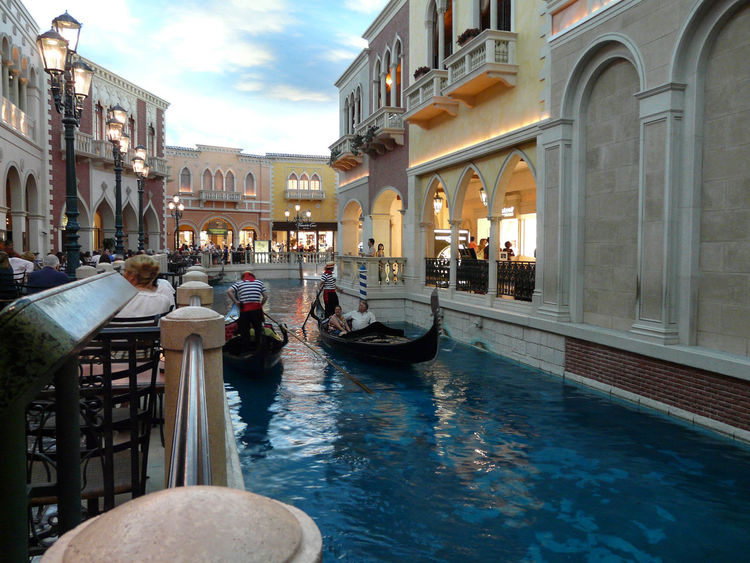 Venice Architecture Building Exterior Built Structure City Day Gondola - Traditional Boat Men Outdoors People Real People Sky Water
