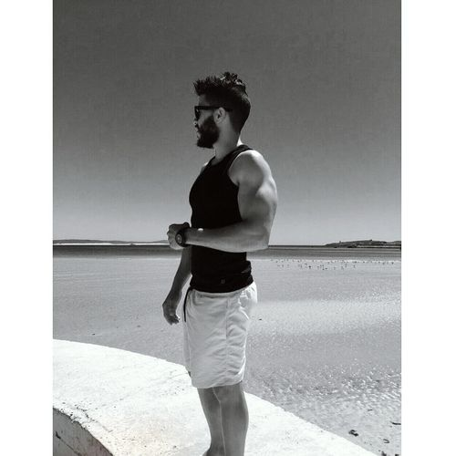 essaouira Taking Photos Muscleman Model Fitnessmodel Beard Beardgang Morocco Selfies Beautiful That's Me