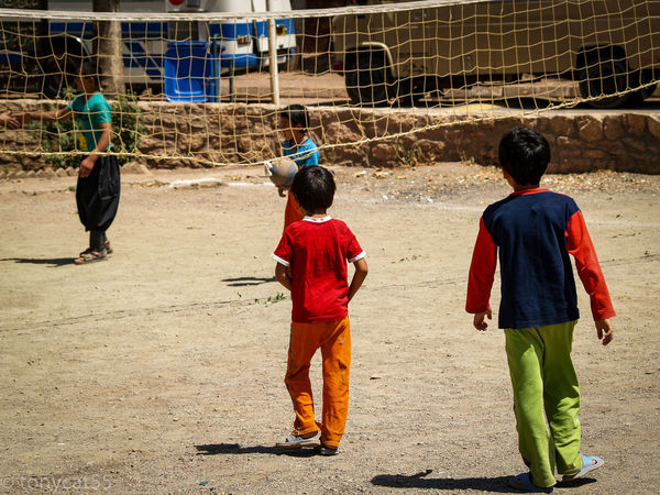Abyiani ASIA Chidren Iran Lifestyle Middle East Old Town Peace People Of EyeEm Playing Games Street Photography Tourism Travel Travel Photography Volley