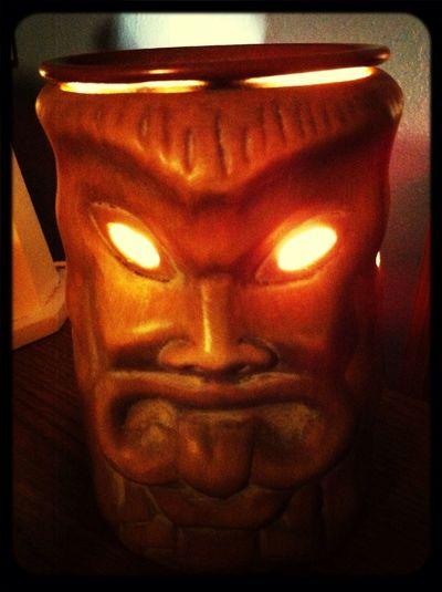Don't make the tiki god angry.