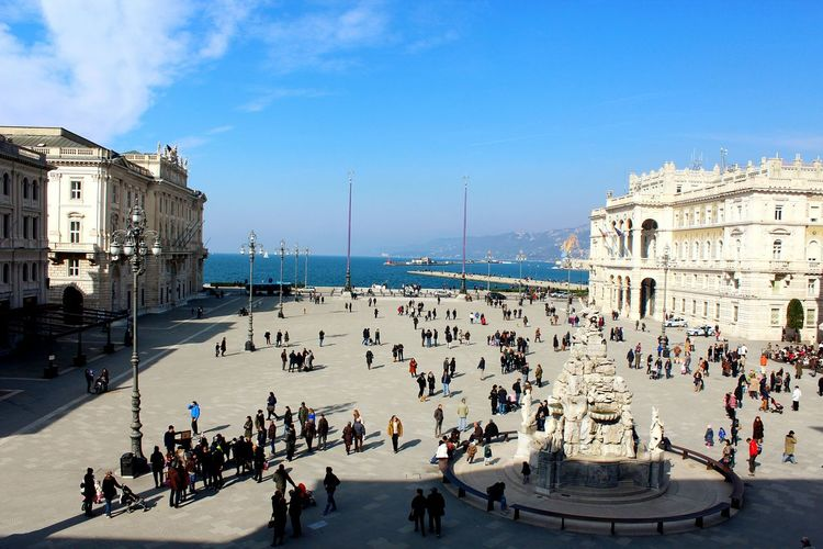 View From The Balcony Piazza Unità Trieste Great Outdoors Great View Great Day