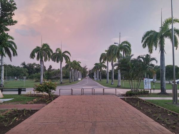 road to entrance by lg g3 on hdr (raw_untouch) @billionth barrel monument, sr in Seria, Brunei