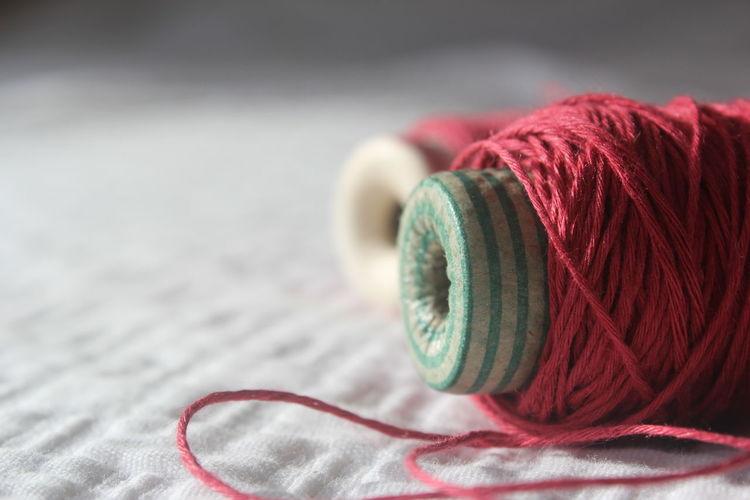 Close up of ropes