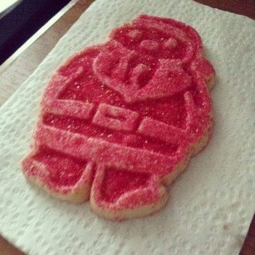 Santaclause Cookie MY santi Claus