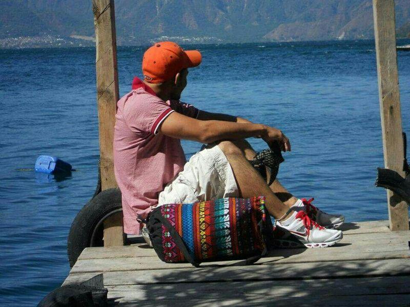 The Traveler - 2015 EyeEm Awards Lago Atitlán Guatemala