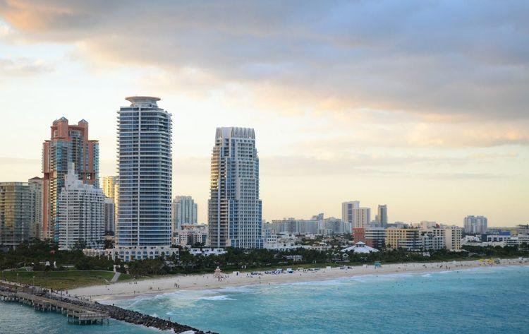 Miami bay Miami Sightseeing Beach