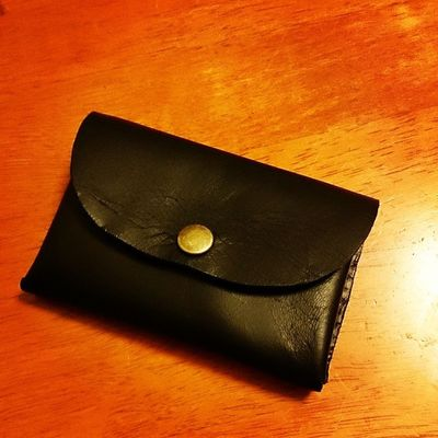 Card Case Leather Handcraft