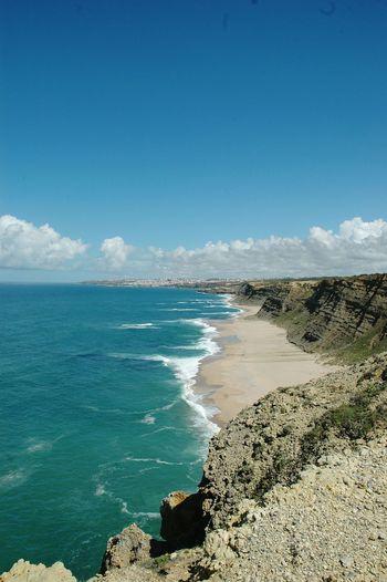 The KIOMI Collection Portugal Ocean Beach Naturelovers Rock Sand Eyeem Edit Sintra