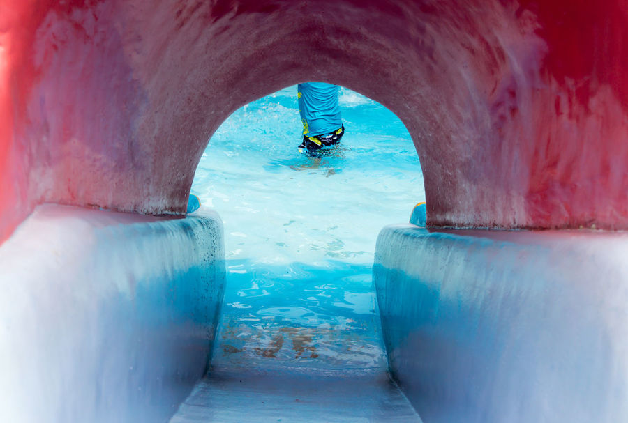 Arch Archway Authentic Moments Blue Cave Check This Out EyeEm Best Shots Eyeem Philippines Frozen Geometric Shape Nature Personal Perspective Perspective Pool Pool Slide Sea Slide Tunnel Wall - Building Feature Weathered