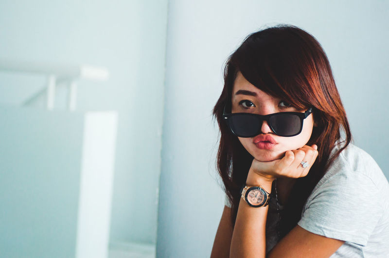 My Best Photo One Person Real People Young Adult Portrait Lifestyles Looking At Camera Leisure Activity Headshot Young Women Front View Sunglasses Indoors  Fashion Glasses Hair Hairstyle Casual Clothing Women Beautiful Woman Freshness Woman People International Women's Day 2019
