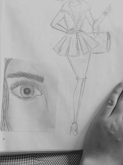My drawings😎 Fashion Design Like I Did This
