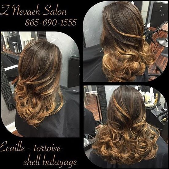 Ecaille Balayage Technique Using Tortoisesgell Colors @znevaehsalon @lorealprous Check This Out Hairstyle Eye4photography # Photooftheday L'Oreal Professionnel Z Nevaeh Salon Balayage Ecaille Hairtrends Tecni.art Color Specialist