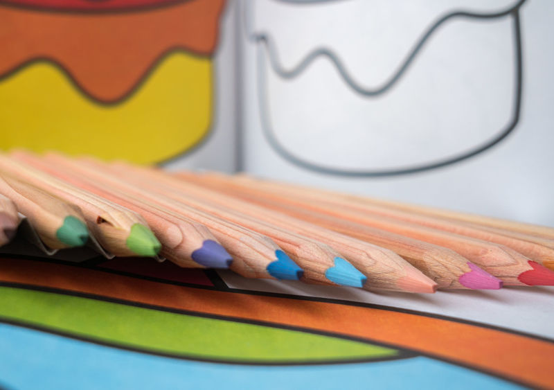 colorful crayons for kids to play Crayons Close-up Colorful Life Crayons Colorful Variety Choice Art Tools Day Indoors  Kids Play Multi Colored No People Pencil School Life  Table