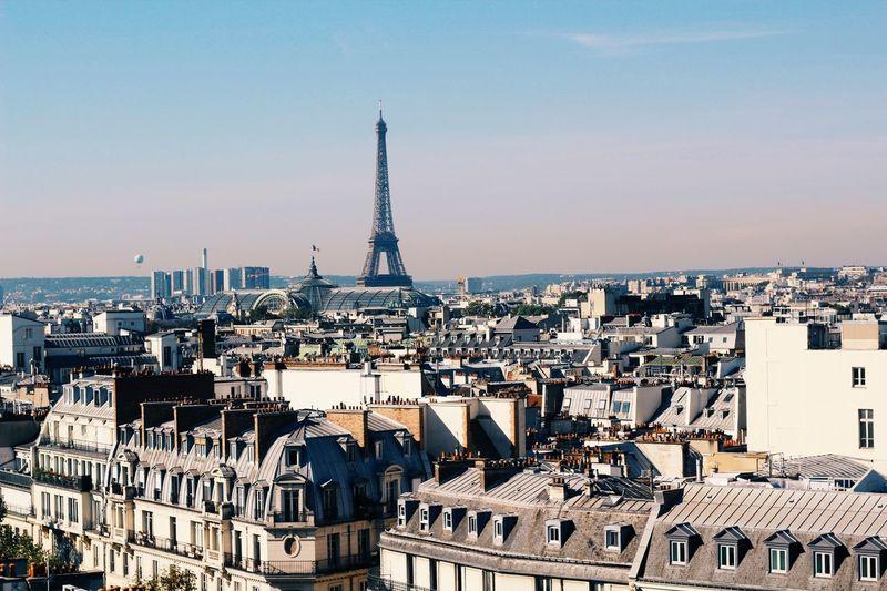 Just Paris 🤙🏼🍃 Architecture Travel Destinations Built Structure Tower Cityscape Building Exterior Tourism Crowded Travel Outdoors City High Angle View Sky Day People Paris, France  Paris ❤ Paris