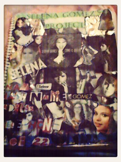 Mi projecto de ingles sobre Selena Gomez,aun no terminado.... Home Sweet Home :) First Eyeem Photo