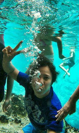 Bubbly Life down here at EnchantedRiver, hinatuan, surigao Phillipines. EyeEm Best Shots Open Edit