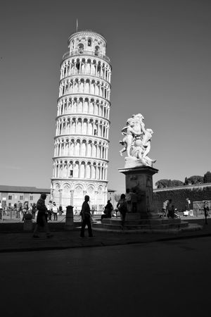 Travel Destinations Tower History Architecture Tourism Pisa Tower Pisa, Italy Pisa Amazing Architecture OpenEdit Travel Photography Eye4photography  Famous Place Nikon Italy Italia Blackandwhite Black And White Black & White Light And Shadow Welcome To Black