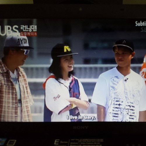 Mongji lives in Gary??? Runningman 59 Mongji KangGary songjihyo