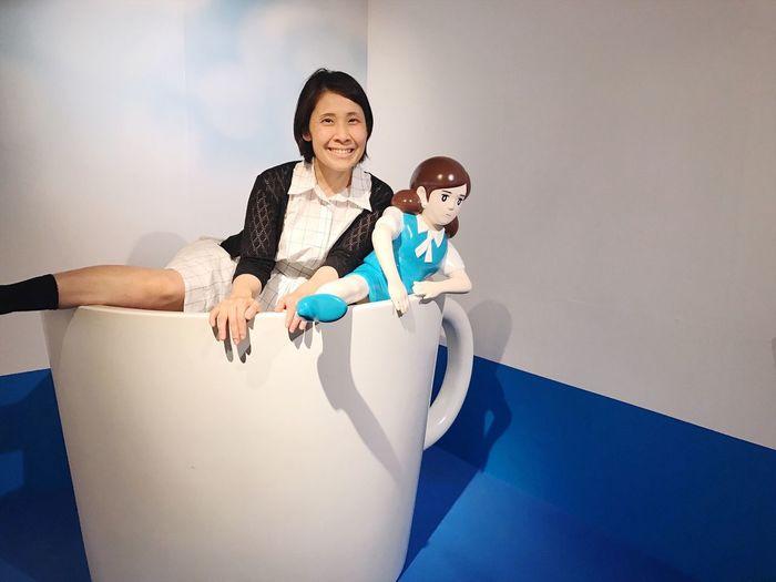 Fuchiko Smiling ThatsMe Kop Happiness Event Event コップのフチ子展 in Kanazawa