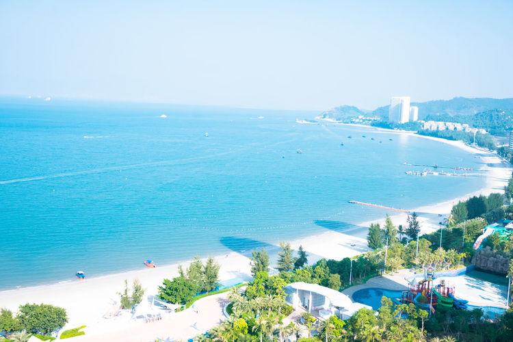 Beach Blue Day