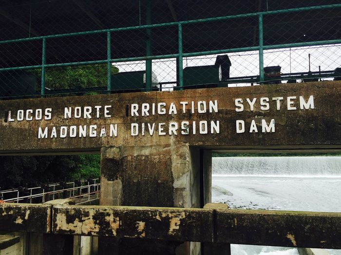Beautiful Nature Beauty In Nature Dam Diversion Dam Freshness Ilocos Norte, Philippines  Irrigation System Madongandam Nature Water First Eyeem Photo