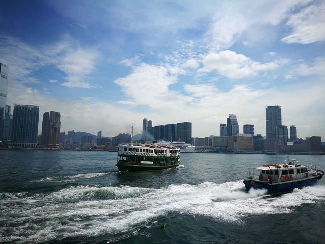 Feel The Journey Ferryboat Taking The Ferry Star Ferry Boats⛵️ Harbour Hong Kong Harbour Hong Kong City