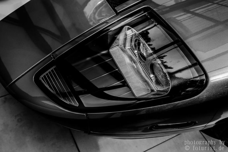 Bnw Car Close-up Day Ford Fordgt Fordgt40 Foturist High Angle View Indoors  Land Vehicle No People Schwarzweiß Technology