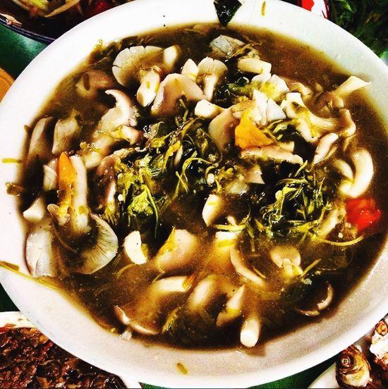 Mashroom Soup Plala Isaan style Chiang Mai | Thailand Aroymak Delicious Foodphotography Food