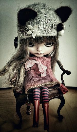 Art Is Everywhere Creepy Doll Sitting Close-up Streamzoofamily