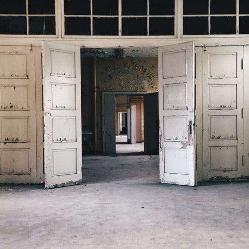 Old Doors Abandoned Places Empty Places