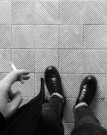 ?? Berlin Mitte Cigarettes Cigarette  Working Docmartens Pause Office That's Me Blackandwhite