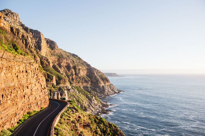 Chapman's Peak. One of the best coastal drives and views in the world. Backgrounds Beach Beauty In Nature Blue Calm Check This Out Clear Sky Hello World Horizon Over Water Jonnynichayes Landscape Mountain Nature Nature No People Ocean Outdoors Popular Photos Road Roadtrip Sea Tranquility Travel Destinations Wallpaper My Year My View