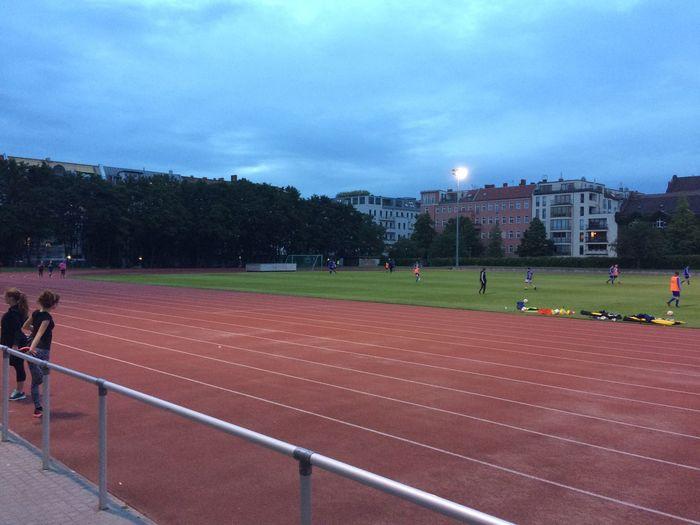 Track Berlin Intervals Training Running