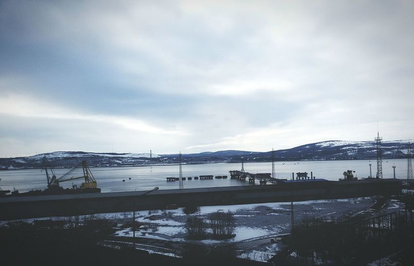 Kola Bay Murmansk Seaport North North Russia Beauty In Nature Water