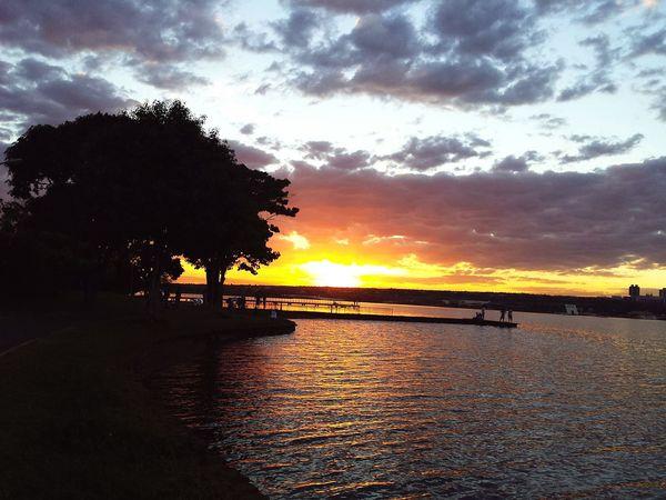 Pordosol Sol Sky Sunset Sunset_collection Sun Brazil Orange Céu Nature