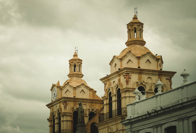 Córdoba Architecture Belief Building Building Exterior Built Structure Cloud - Sky Cordoba-argentina Day History Low Angle View Nature No People Ornate Outdoors Place Of Worship Religion Sky Spire  Spirituality The Past Tower Travel Destinations