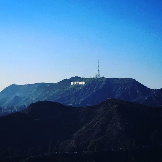 Exploring Geology Hollywood Hollywood Sign Landscape Outdoors Physical Geography Scenics Snow Trip