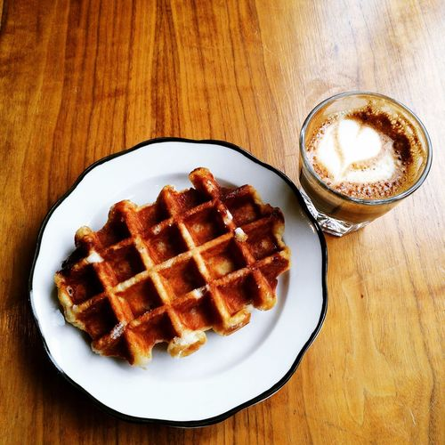 Snack time at Everyman Espresso on March 26, 2015 in New York City. #snack #coffee Coffee And Sweets