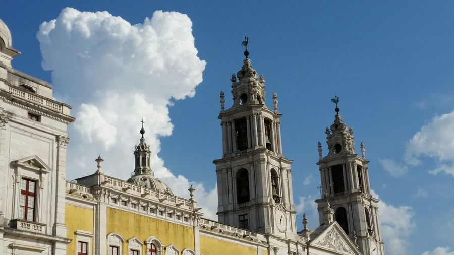Taking Photos Historical Monuments Monument Clouds And Sky Convento De Mafra Mafra