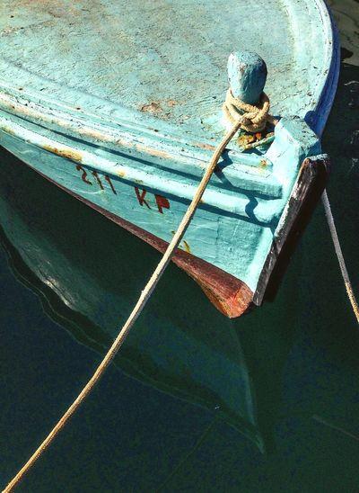 Old Boat Sea