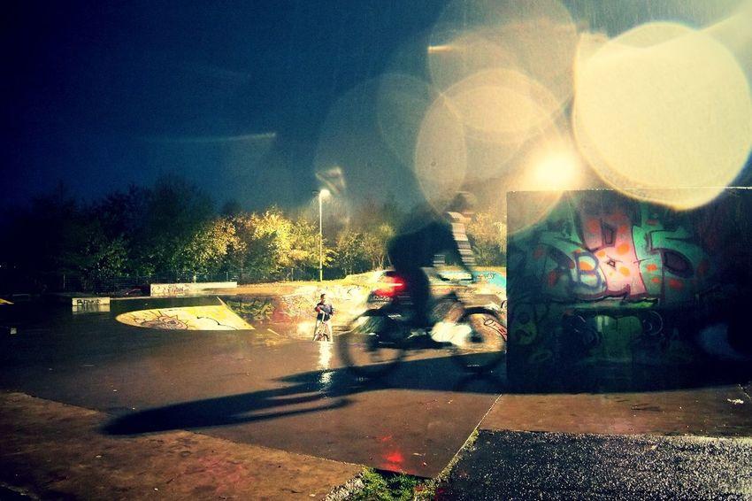 Dundee Dundee, Scotland Dundee, Uk Illuminated Night Outdoors Rainy Day Rainy Season Skate Park Urban