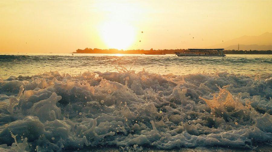 Sunrise Waves Water Nature Landscape Hello World Relaxing Enjoying Life Travel Summer Views