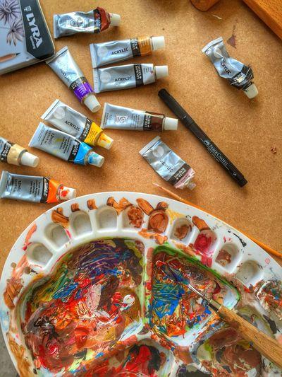 Dabbling with art Art ArtWork Artists Imagination Colours