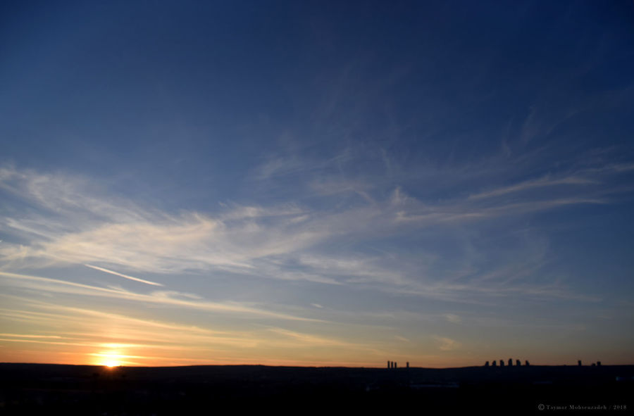 Ankara City Silhouette Skyline Sunlight Twilight Cloads Dusk Horizon Landscape Seascape Shadow Sky Sun Sunrise Sunset