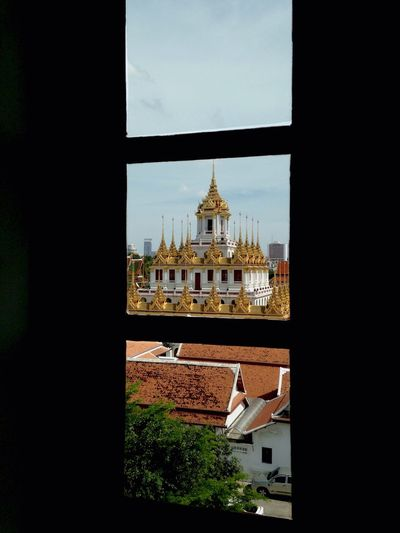 Metal Castle Laha Prasat Wat Ratchanaddaram Worawihan, Bangkok Thailand