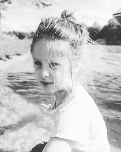 Black And White Black And White Portrait Gemma Kid Portrait Kids Budd Lake