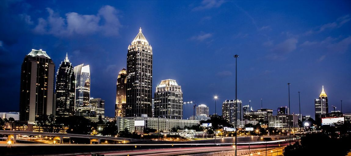 Downtown Atlanta Atlanta ATL Georgia Skyline Cityscape Architecture Cityscapes Fine Art Photography