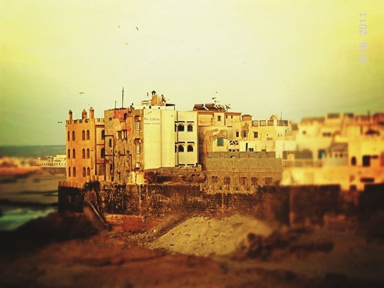 Essaouira Morocco Maroc Ville Fortifiée Mogador Mogador City Remparts Battlement Battlements